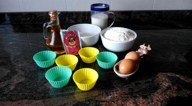Muffins de Zanahoria y Almendras