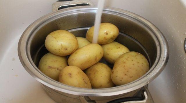 Patatas en Ajopollo como en Almería