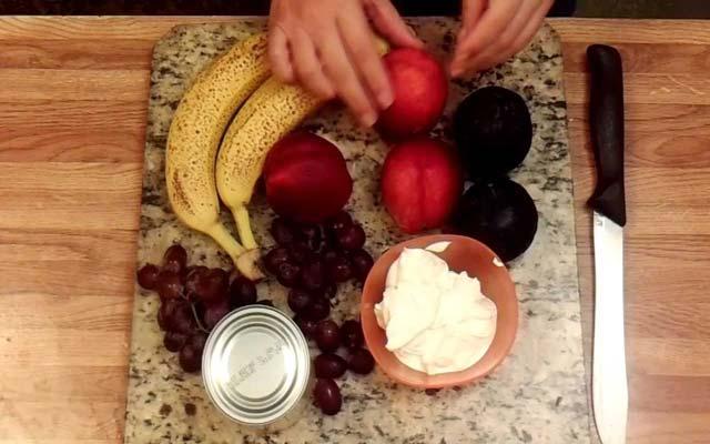 Ensalada de frutas colombiana
