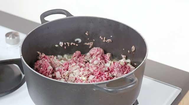 Carne con salsa