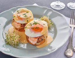 Huevos benedictine