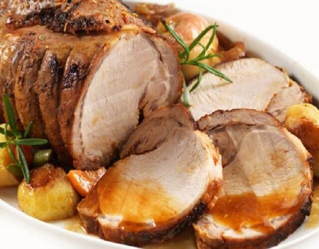 Receta de solomillo de cerdo al horno al horno queapetito - Solomillo cerdo al horno ...