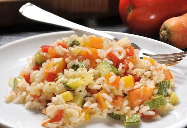 Risotto de verduras