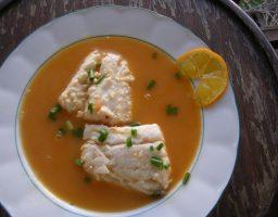 Sopa de merluza