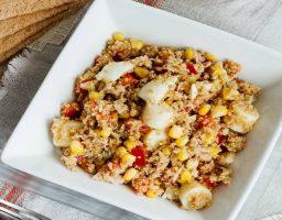 Ensalada de quinoa y atún