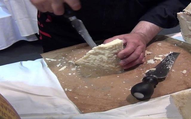 Ensalada de rucula y queso parmesano