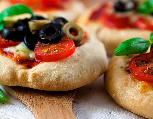 Mini pizzas caseras