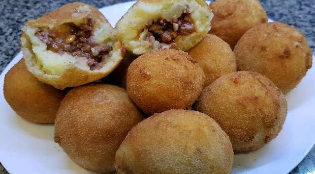 Bombas de Patatas Picantes