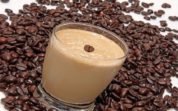 Yogur de licor de café